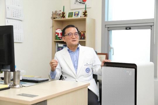 `삼성 큐브` 공기청정기, 알레르기 질환 개선 효과 입증